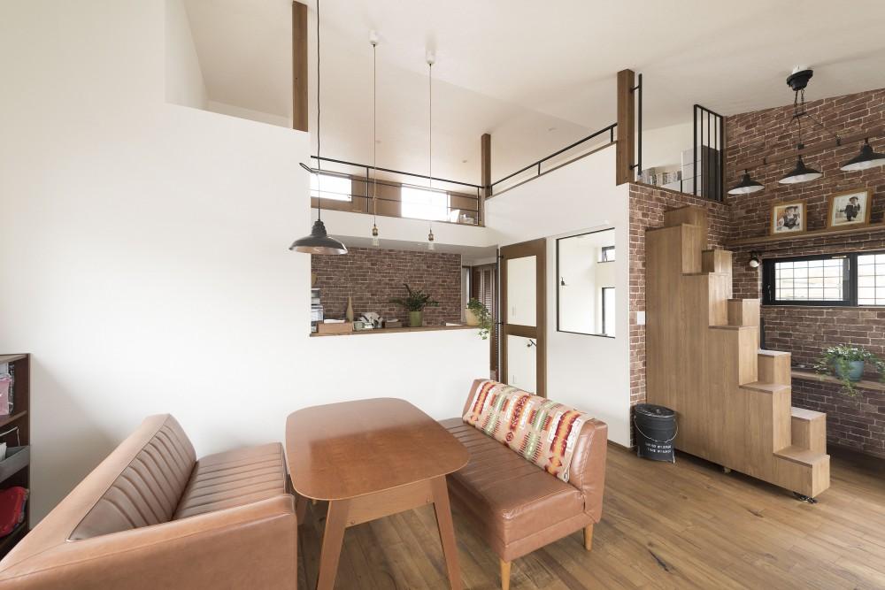 ロフトやDIYスペース。こだわりが光る開放的なお家。